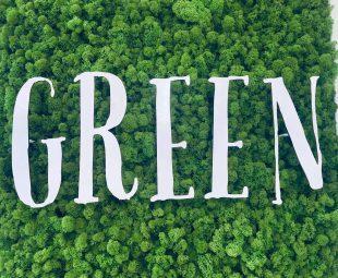 green auf grün