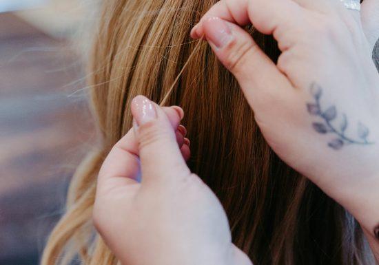Beschaffenheit Haarabschnitt